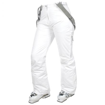 Lohan Women's Waterproof Ski Trousers - WHT