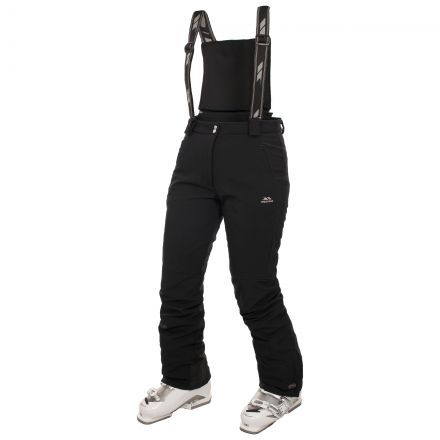 Jaylo Women's Black Ski Pants in Black