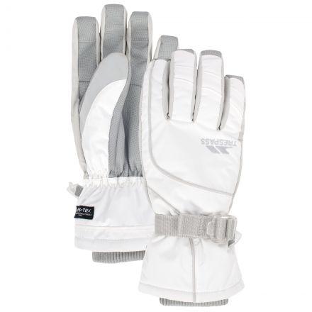 Vizza Adults' Ski Gloves in White