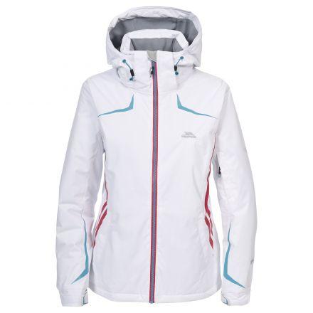 Fairmount Women's Ski Jacket - Black in White