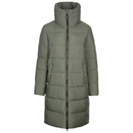 Trespass Womens Casual Jacket Faith - IVY, Front view on mannequin