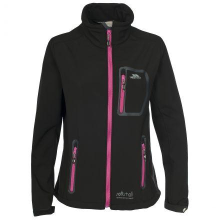 Homelake Women's Softshell Jacket in Black