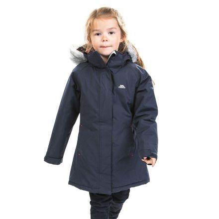 Fame Girls' Waterproof Parka Jacket