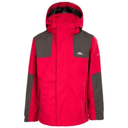 Farpost Kids' Waterproof Jacket in Red