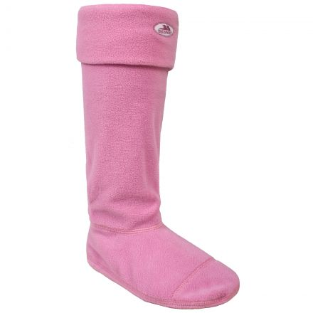 Snookie Women's Wellie Socks in Light Pink