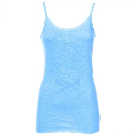 JESSI Women's Strappy Vest Top in Blue