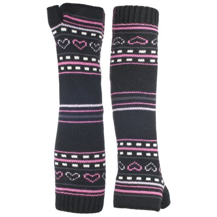Dione Kids' Printed Fingerless Gloves