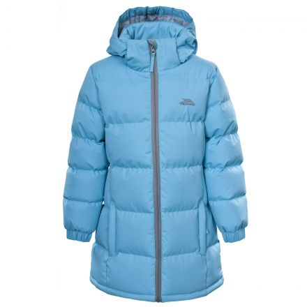 Tiffy Girls' Padded Casual Jacket in Light Blue