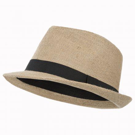 Fedora Adults' Fedora Hat in Beige
