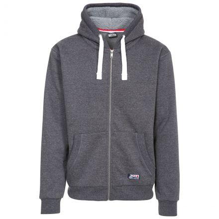Feldy Men's Fleece Hoodie in Grey
