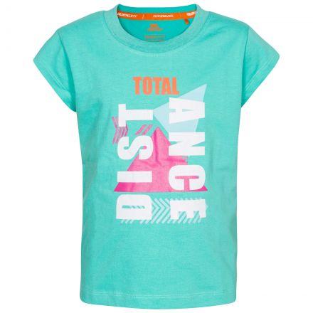 Felicia Kids' Printed T-Shirt  in Light Blue