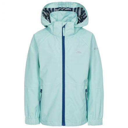 Fenna Kids' Waterproof Jacket in Light Green