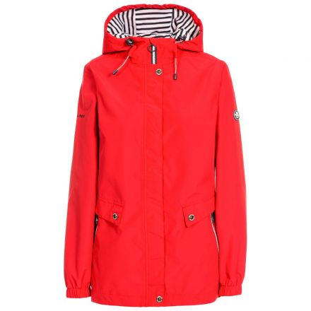 Trespass Womens Waterproof Jacket with Hood Flourish Hibisicus