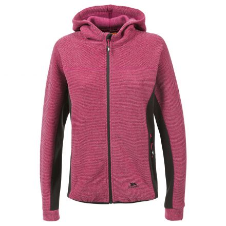 Floxy Women's Fleece Hoodie in Pink