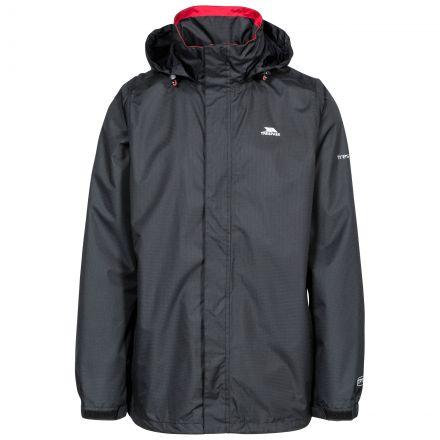 Fraser II Men's Waterproof Jacket in Black
