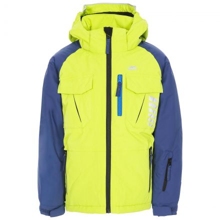 Freebored Kids' Ski Jacket in Green