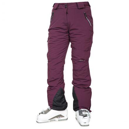 Galaya Women's Waterproof Ski Trousers in Purple