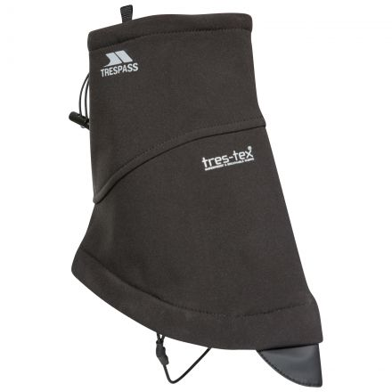 Geter Softshell Ankle Shoe Gaiters in Black
