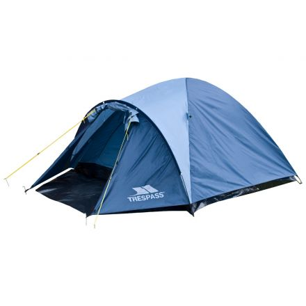 Ghabhar Double Skin 4-Man Tent in Blue