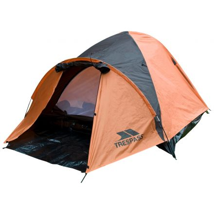 Ghabhar Double Skin 4-Man Tent in Orange