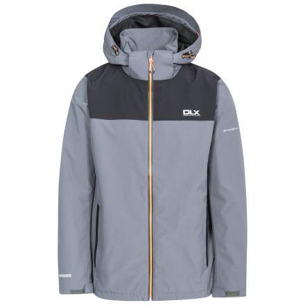 Ginsberg Men's DLX Waterproof Jacket in Grey