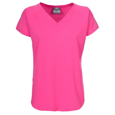 Gliding Women's Quick Dry V-Neck T-shirt