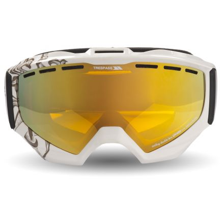 GOLDENEYE DLX Ski Goggles in White