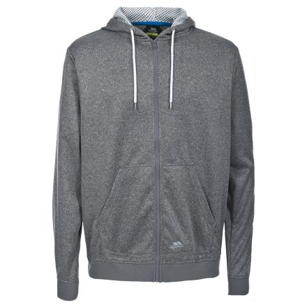 Goodman Men's Fleece Hoodie in Grey