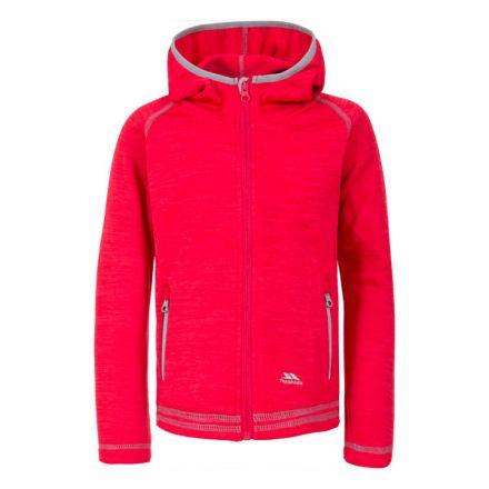 Trespass Kids Fleece Jacket with Hood Full Zip Goodness