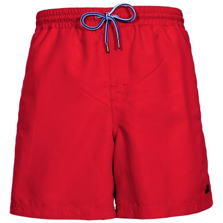 Granvin Men's Swim Shorts in Red