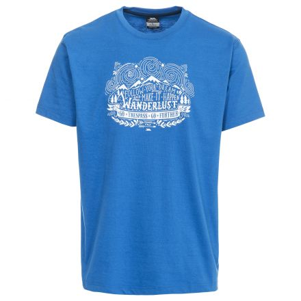 Hainey Men's Printed Casual T-Shirt
