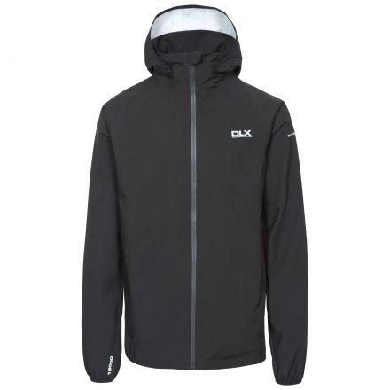 Hawkings Men's DLX Waterproof Packaway Jacket in Black