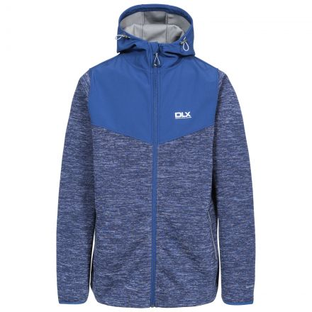 Hendricks Men's DLX Softshell Active Jacket in Navy