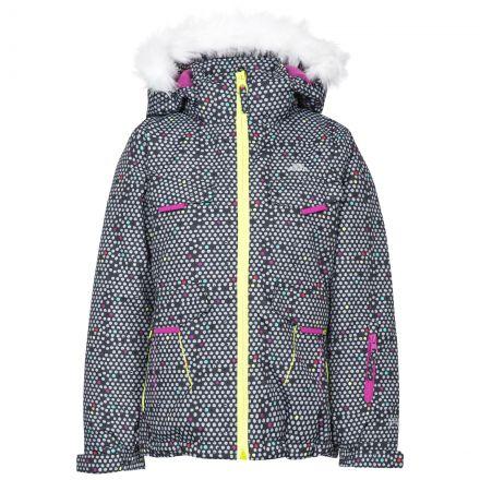 Hickory Kids' Printed Ski Jacket in Black