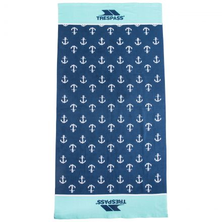 Hightide Printed Beach Towel in Blue