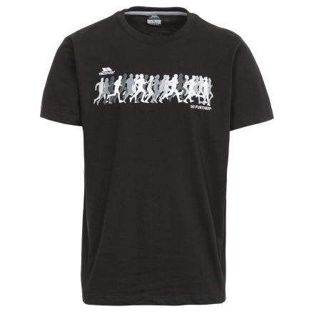 Hiker Men's Printed Casual T-Shirt