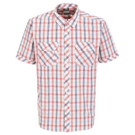 Hopedale Men's Short Sleeve Checked Shirt