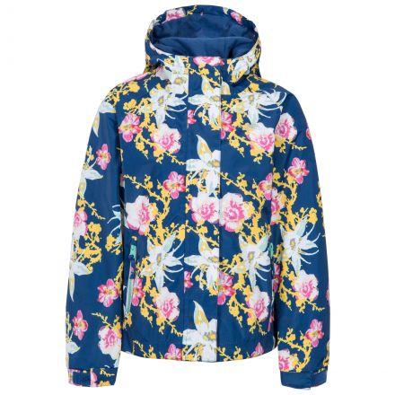Hopeful Girls' Waterproof Jacket in Dark Blue