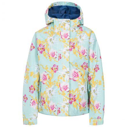 Hopeful Girls' Waterproof Jacket  in Light Green