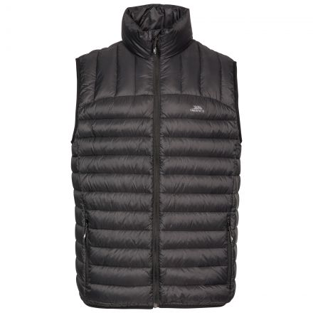 Hoppers Men's Lightweight Down Gilet - BLK