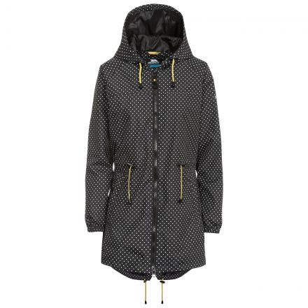 Isabella Women's Waterproof Parka Jacket in Black