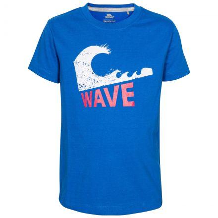 Jakob Kids' Printed T-Shirt in Blue