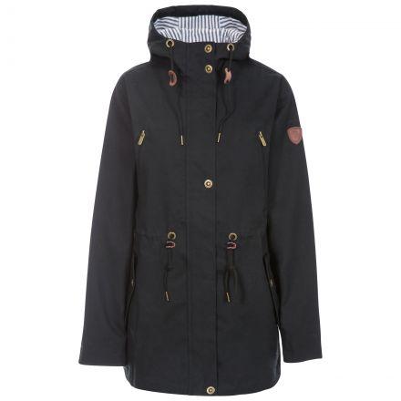 Johanna Women's Waterproof Jacket in Black