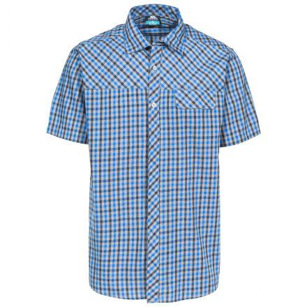 Juba Men's Short Sleeve Checked Shirt