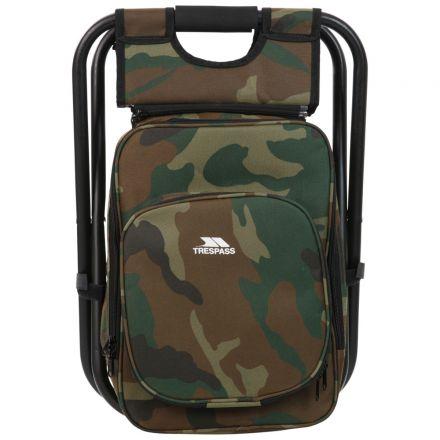 Trespass Backpack Chair for Hiking & Fishing Jubilee Khaki