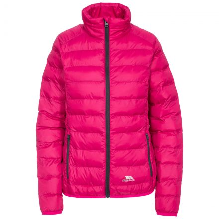 Julianna Women's Lightweight Packaway Jacket in Pink