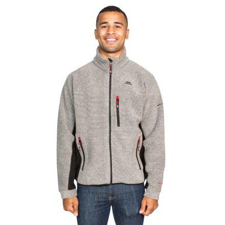 Jynx Men's Fleece Jacket in Brown