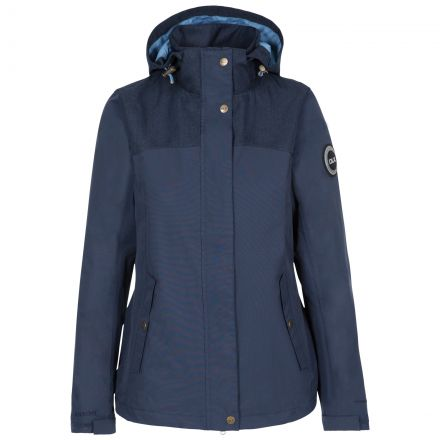 Kelby Women's DLX Waterproof Jacket in Navy