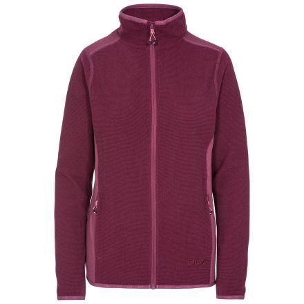 Kelsay Women's DLX Fleece Jacket in Purple