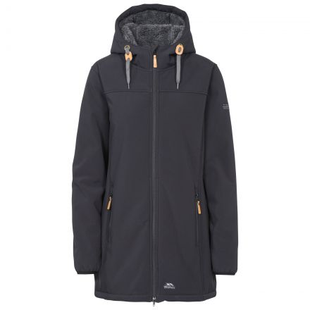 Kristen Women's Long Hooded Softshell Jacket
